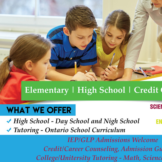 High School Tutoring Mississauga